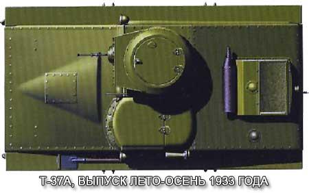 Малый танк Т-37А