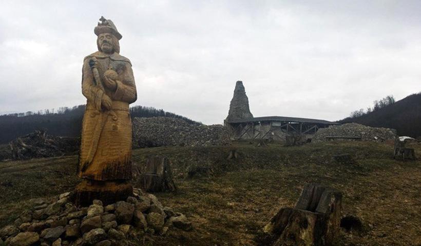 Руины замка Пустый Град.